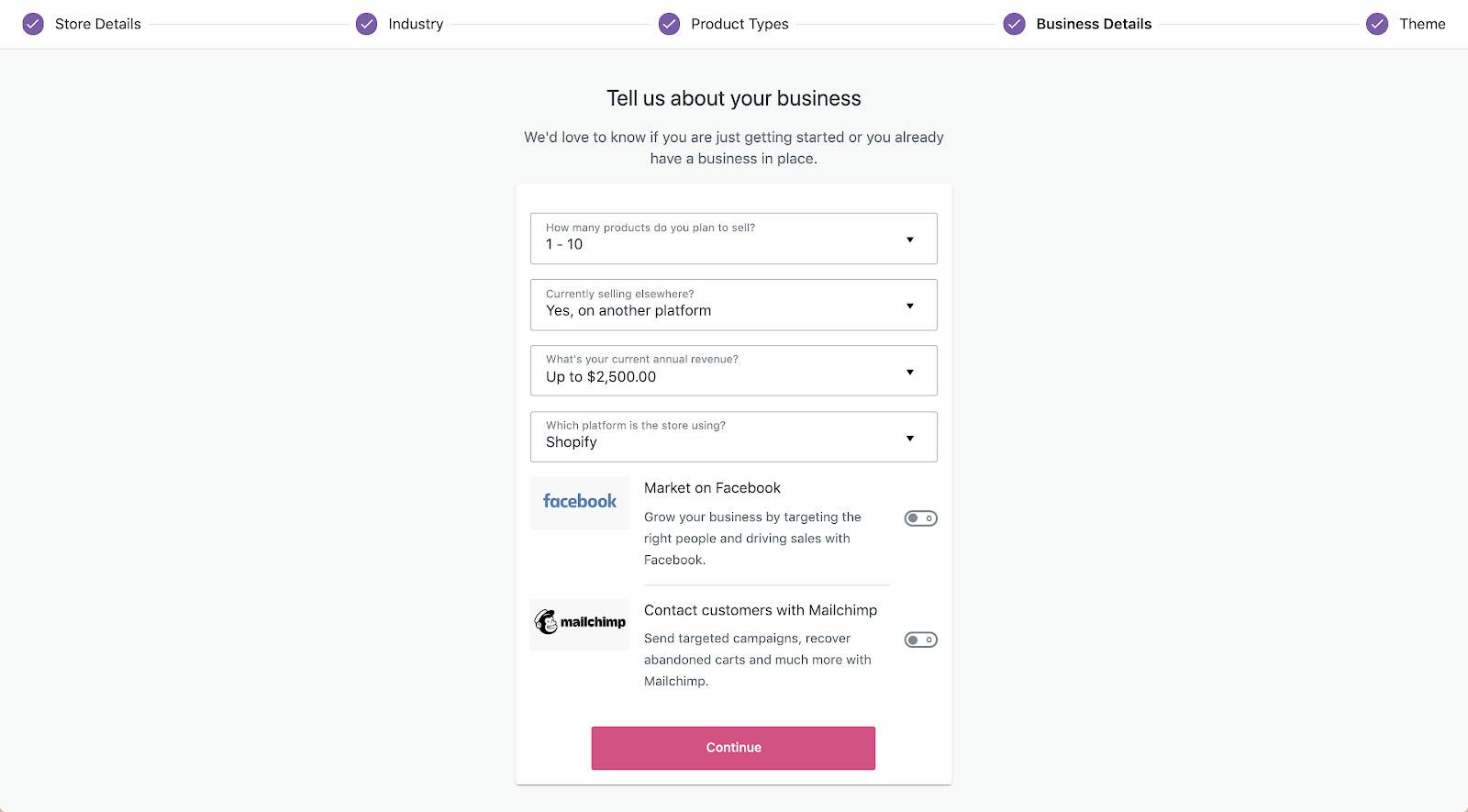 WooCommerce 4.0 Onboarding - Springfield Digital QLD